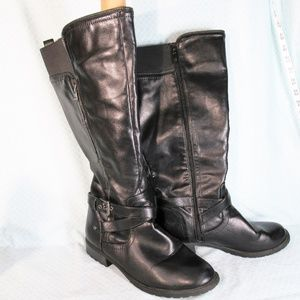 G by Guess Tall Wide Calf Riding / Moto Boots